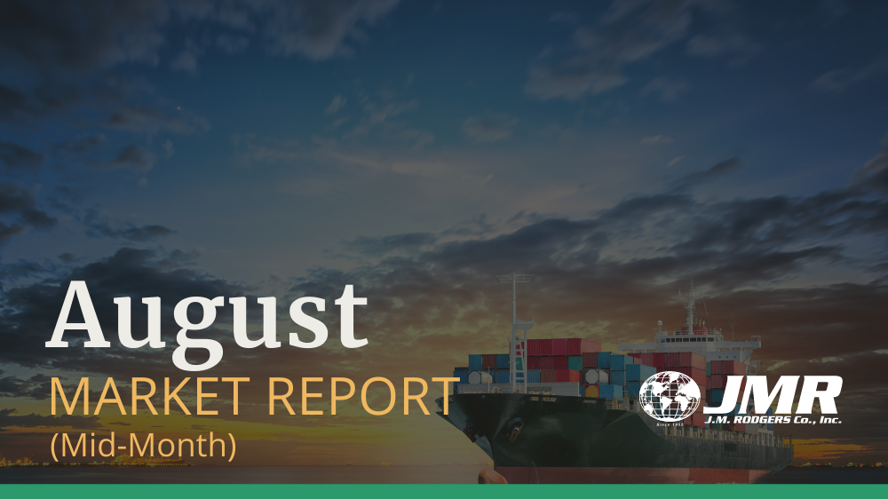 [August Mid-Month Market Report] Transpacific Rates & Space Situation Updates