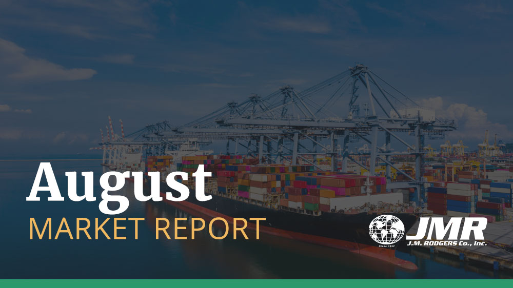 [August Market Report] Transpacific Rates and Space Situation Updates
