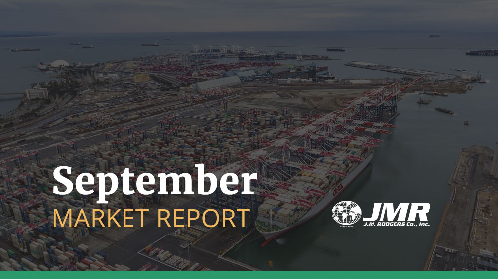 [September Market Report] Transpacific Rates and Space Situation Updates