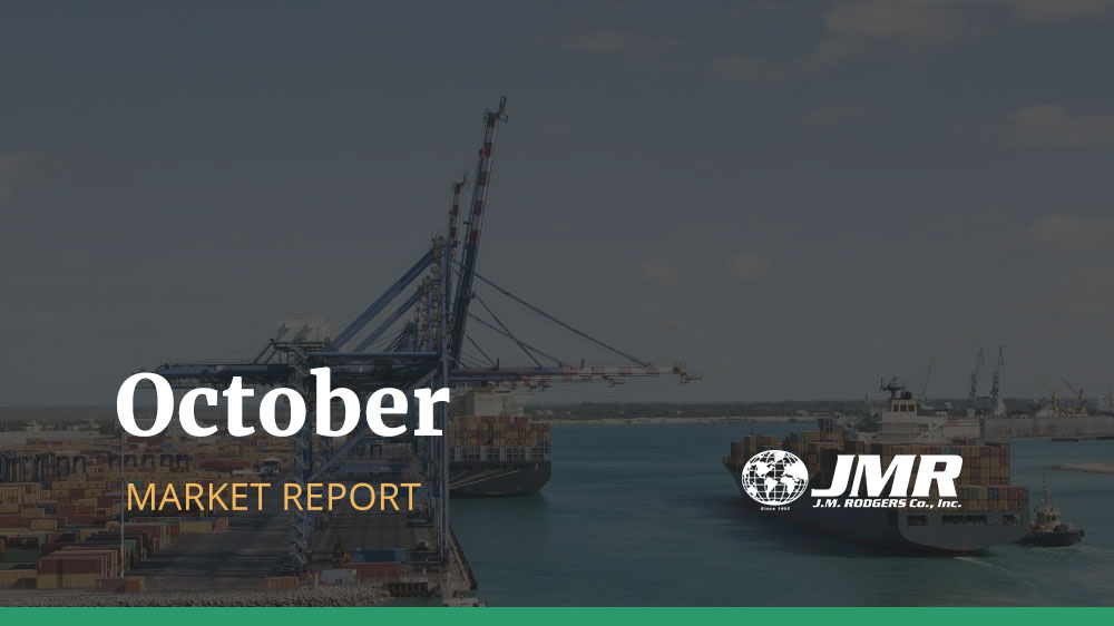 [October Market Report] Transpacific Rates and Space Situation Updates